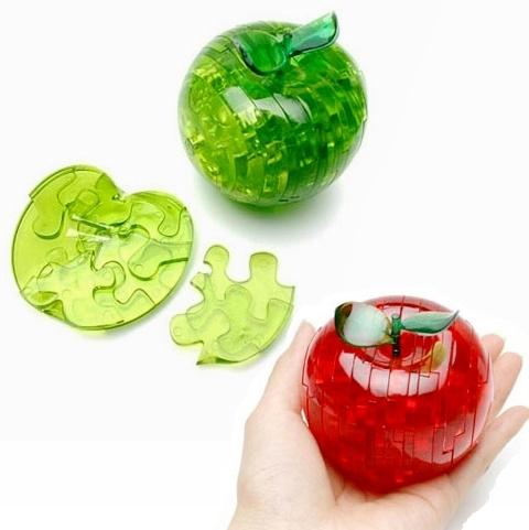 Яблока crystal 3d puzzle инструкция